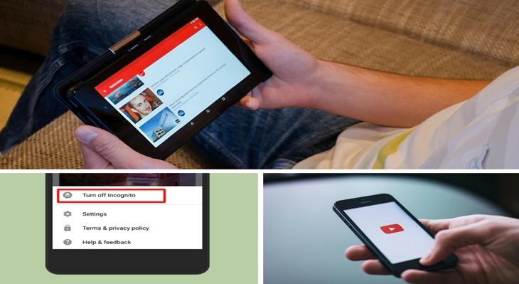 YouTube Incognito Mode