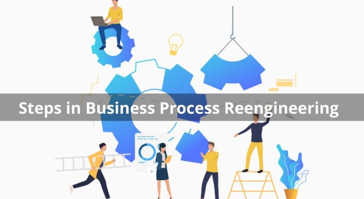 Steps in Business Process Reengineering