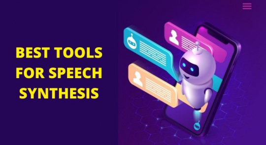 BEST TOOLS FOR SPEECH SYNTHESIS