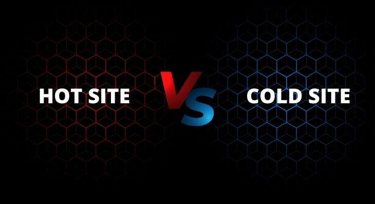 Hot site vs Cold site