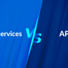 Difference between Microservices and API